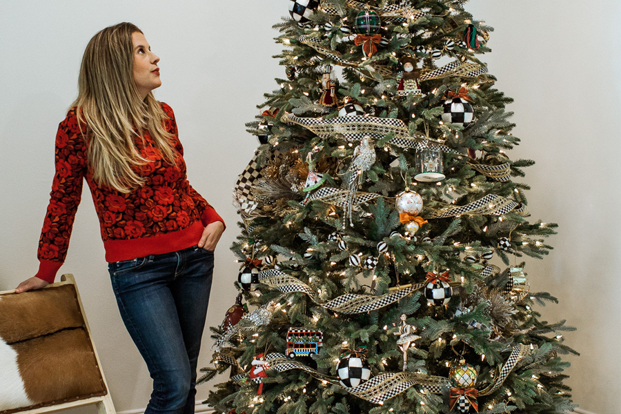 Our Christmas Tree Made the MacKenzie-Childs Catalog! - TOMBOY KC